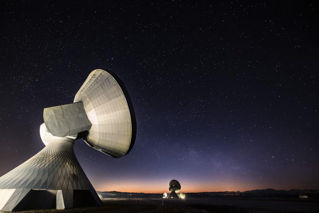 Uplink-Antenne Raisting